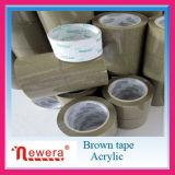 Tan Band van de Verpakking van de Kleur BOPP de Acryl Zelfklevende