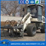 0.8t Lader van het Wiel van China de Hydraulische Drijf met Ce- Certificaat