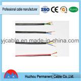 Tipo Rvv 450/750V núcleo de cobre aislados con PVC&Redondo enfundado de cable de alimentación flexibles