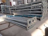 7,7 m Galvanized Street Lighting Steel Pole
