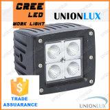 16W 10~30LED carrés phares de travail V DC IP67 pour usage intensif phares de travail, offroad CREE LED Projecteur de conduite