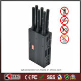 2014 nuovo Handheld 6 Bands 4G Lte 4G Wimax Cell Phone Jammer 4G Jammer 3G Jammer