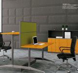 Muebles de oficinas ejecutivos modernos del panel de bambú sólido del grano certificados por el Fsc certificado