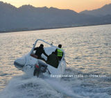 Luxe 620 van Liya Boot van Hull van de Glasvezel van de Boot van de Motor de Opblaasbare