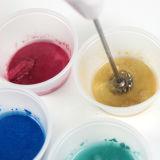 Pigment aux perles pour revêtement en poudre