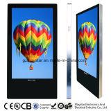 22inch de volledige Kiosk van de Reclame van de Kabel van HD 3G WiFi Digitale