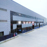 Edificio de la estructura de acero para la fábrica (SS-578)