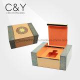Fournisseur de empaquetage laqué fabriqué à la main de cadre de parfum en bois de première pente