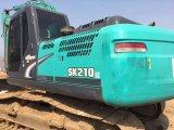 Esteira rolante usada barata de Kobelco Sk210-8 da maquinaria de construção/máquina escavadora hidráulica (2014)
