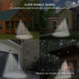 45 lumière solaire imperméable à l'eau de jardin de garantie de DEL PIR (RS2014)