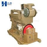 Motor marinho do motor Diesel de Cummins Kta19-M para a caixa de engrenagens do Tugboat do barco de pesca do navio