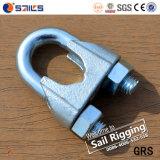 Сжатие веревочки провода DIN741 высокого качества томительноей-тягуч гальванизированное сталью