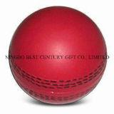 Mousse de PU souligner la bille de cricket de forme de balle