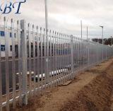 2.4m hohes heißes eingetauchtes galvanisiertes Stahlpalisade-Sicherheits-Fechten