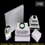 Présentoir acrylique exquis blanc de bijou