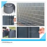 100%Anti-UV cerca dura del jardín del PVC del peso 1450g el 19cm*2.525m