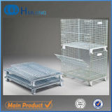 Collapsible Foldable Heavy Duty Wire Mesh Container