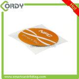 30mm ronds/collant tag RFID 125kHz de disque/pièce de monnaie