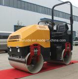 二重ドラムBomagの道ローラーのコンパクター(FYL-900)の2トンの油圧乗車