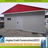 Casa prefabricada de lujo de China con la estructura de acero ligera
