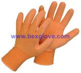 Вкладыш 13 датчиков Nylon, покрытие латекса, перчатка отделки пены