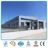 Entrepôt industriel préfabriqué d'acier de construction de forme de W