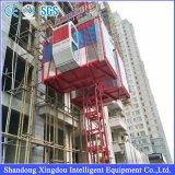 Zhangqiuの構築の起重機の中国の販売サイトかドバイの韓国のエレベーターまたは建築材料の製造者