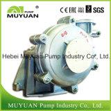 Pompe centrifuge de boue de mine d'or d'alimentation lourde de cyclone