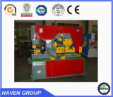 De hydraulische Machine van het Ponsen en het Scheren van de Arbeider van het Ijzer hydraulische Gecombineerde met het Inkerven