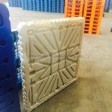 Face Única personalizado 4 VIAS DE HDPE/PP moldagem por sopro de paletes de plástico