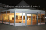 Dia. 16m Permanent Snowproof Outdoor Events Octagonal Pagoda Glass Tent