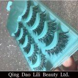 La bellezza Hair5 sintetico di Lili accoppia il ciglio falso nero di modo
