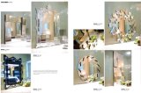 Квадратное декоративное зеркало стены гостиницы зеркала