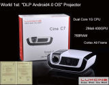 1 Mundial 4.0.3 SO Android Mini Projector LED WiFi (C7)
