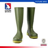 Ботинки дождя PVC работая с специальностью Non выскальзования и сопротивления алкалиа кислоты для сада и индустрии
