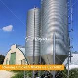 Agricoltura del sistema d'acciaio progettato port del silo dell'alimentazione del pollame durevole da vendere