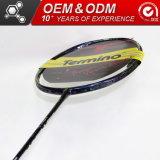 De aangepaste Racket van het Badminton van het Merk van de Koolstof van 675 mm Professionele