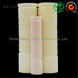 Quadrato di ceramica del tubo quadrato di ceramica dell'allumina di Zirconia e Tubo-Ketao rotondo