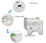 Interruptores de troca de carga do interruptor de transferência ATS da energia eólica 6A-63A