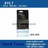 Fabriek 6 de Geplateerde van China Sleutel Torx van Tanden HRC52 Chroom