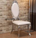 의자 현대의와 계약한 가구 유행 호텔을 식사하는 스테인리스는 먹는다 금속 가죽 의자 (M-X3489)의 책상과 의자 조합을