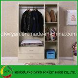 Drei Türen und zwei Fach-moderne Garderobe