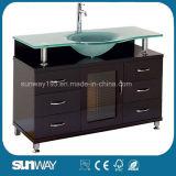 Governo di stanza da bagno classico di legno solido Sw-Wd1001L