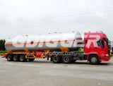 52m3 do tanque de armazenagem de GLP semi reboque de Transporte de Gás Natural