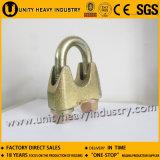 DIN1142 Fixação de corda de fio ajustável em zinco Clip de cabo de aço