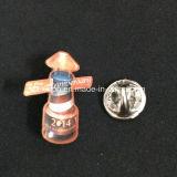 Pin de encargo de la divisa de la insignia del metal con el esmalte del color