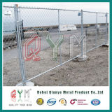 Тип временно загородка звена цепи сваренной сетки загородки временно