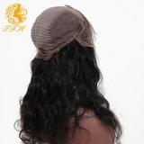 Человеческие волосы парика фронта шнурка париков шнурка дешевые с волосами девственницы ранга объемной волны 8A париков волос младенца бразильскими для чернокожей женщины