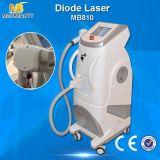 Grande strumentazione di bellezza di rimozione dei capelli del laser del diodo del migliore venditore 808nm di formato di punto (MB810)