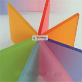 Various Size Colorful double Sides frost acrylic Sheet